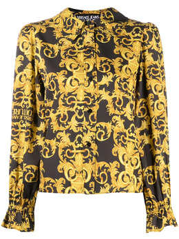 Versace Jeans Couture baroque-print blouse B0HWA612S0990