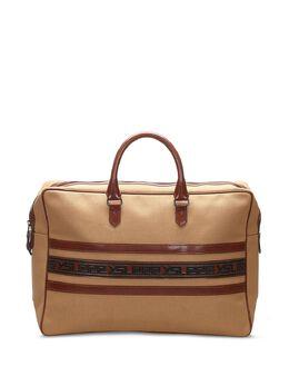 Yves Saint Laurent Pre-Owned сумка-тоут с полосками 0LYSHB005