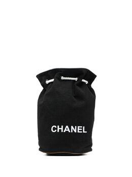 Chanel Pre-Owned сумка-ведро 2010-х годов с логотипом CH450ANE