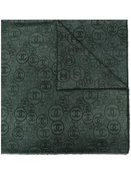 Chanel Pre-Owned кашемировый шарф 2020-х годов с логотипом CC CHA1350LN