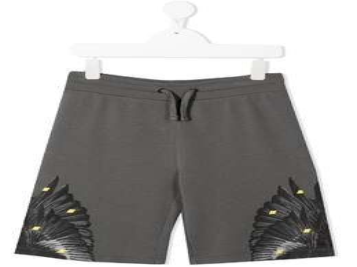 Marcelo Burlon Kids Of Milan шорты с графичным принтом 32070020