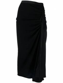 No. 21 high-waisted ruched skirt 21EN2M0C0515080