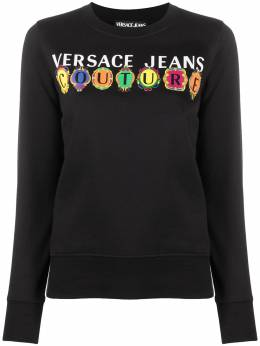 Versace Jeans Couture толстовка с логотипом B6HWA7PC30456