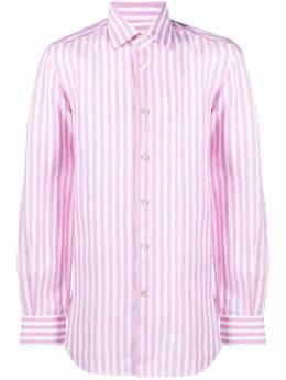 Kiton полосатая рубашка UCCH07301