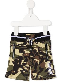 Givenchy Kids спортивные шорты с камуфляжным принтом H04099