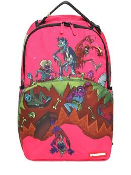 Рюкзак Из Канваса Zombie Sprayground 73IXL5002-RlVDSFNJQQ2