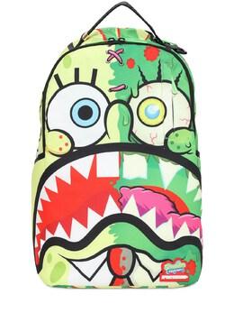 "Рюкзак ""sponge Bob"" Из Парусины Sprayground 73IXL5001-TVVMVElDT0xPUg2"