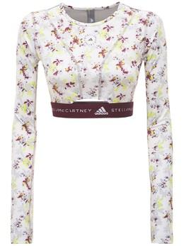 Укороченный Топ Asmc Future Playground Adidas by Stella McCartney 73IE0O016-Q0xPV0hJL1BOS1RJTi9B0