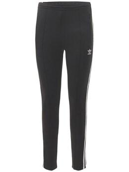 Брюки Slim С Логотипом Adidas Originals 73I0N6042-QkxBQ0s1