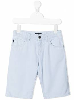 Emporio Armani Kids джинсовые шорты средней посадки 3K4SJD4D2KZ