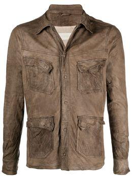 Giorgio Brato куртка с жатым эффектом GU21S9804VBRUSH