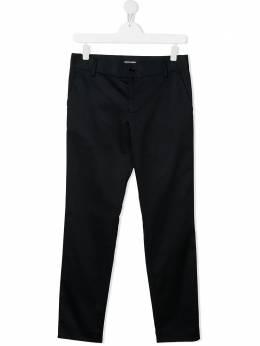 Emporio Armani Kids строгие брюки кроя слим 3K4PJG4N51Z