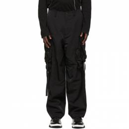 Julius Black Gasmask Cargo Pants 727PAM5