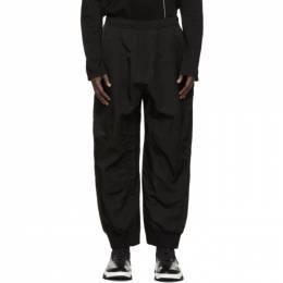 Julius Black Baggy Track Pants 727PAM3