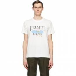 Helmut Lang White Saintwoods Edition HL Ocean T-Shirt K10DM515