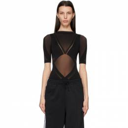 Wolford Black adidas Originals Edition Sheer Motion Bodysuit 78283