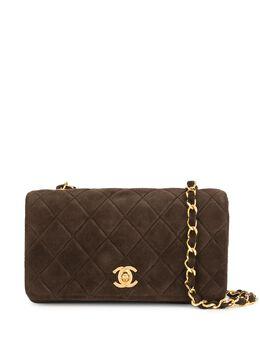 Chanel Pre-Owned стеганая сумка на плечо 1990-х годов 1259745
