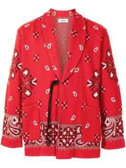 Coohem жаккардовый пиджак с узором Bandana 13212003