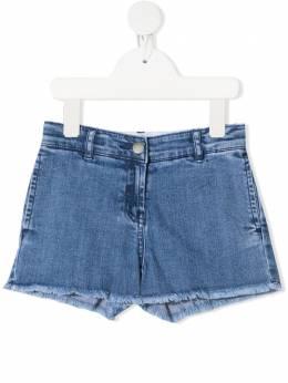 Stella McCartney Kids джинсовые шорты Butterfly 602726SQK97