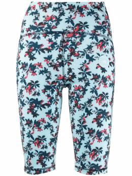 Adidas by Stella McCartney облегающие шорты TruePurpose с цветочным принтом GL5830