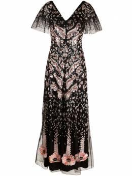 Temperley London вечернее платье Candy с пайетками 21SCNY53209
