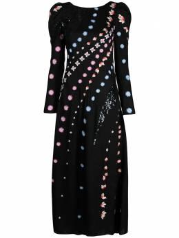 Temperley London платье Betsey с вышивкой 21SBEY53935