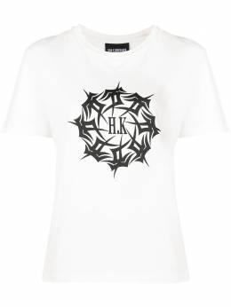 Han Kjobenhavn футболка из органического хлопка с логотипом F130386