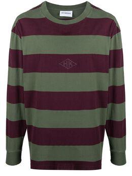 Han Kjobenhavn полосатая футболка с длинными рукавами M130442