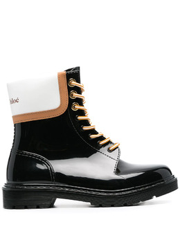 See By Chloe colour-block ankle boots SB36161A1327