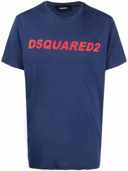 Dsquared2 logo-print short-sleeve T-shirt S74GD0835S21600