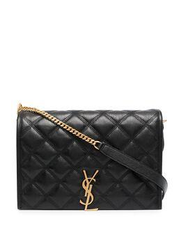 Saint Laurent стеганая сумка на плечо Becky 6507691D319