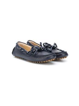 Emporio Armani Kids мокасины со шнуровкой XYB003XOB02