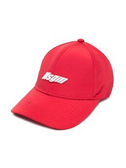 MSGM Kids шестипанельная кепка с логотипом MS027632