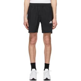 Adidas Originals Black Aeroready 3-Stripes Shorts GM0643