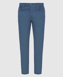 Синие джинсы Isaia 2300006574634