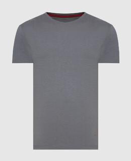 Серая футболка Isaia 2300006576898