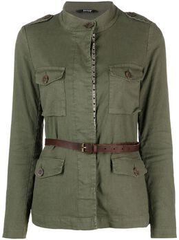 Bazar Deluxe куртка с поясом S6672100