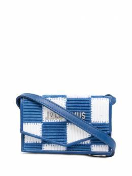 Jacquemus клетчатая сумка на плечо 215SL04215317352