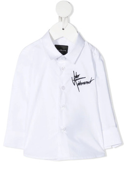 John Richmond Junior рубашка с вышитым логотипом RIP21130CA