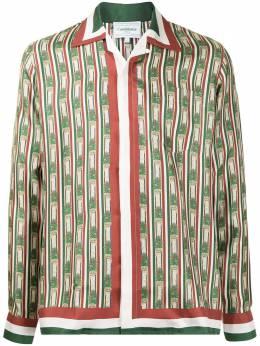 Casablanca рубашка с принтом MF20SH006