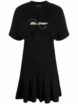 Daily Paper платье-футболка с логотипом 2112141