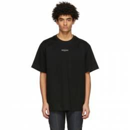 Wooyoungmi Black Small Logo T-Shirt TS04
