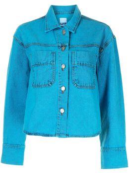 Sjyp укороченная джинсовая куртка PW2B1NJM019W