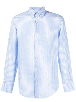 Finamore 1925 Napoli полосатая рубашка на пуговицах 010850C0046