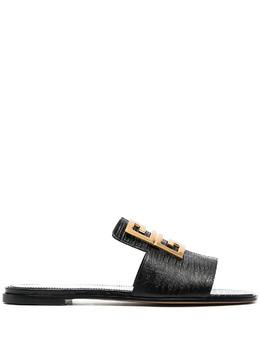 Givenchy сандалии с логотипом 4G BE303AE0XS