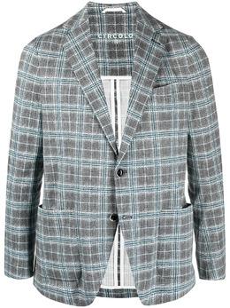 Circolo 1901 клетчатый пиджак строгого кроя CN3050
