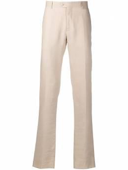 Billionaire строгие брюки с вышитым логотипом IAACMRT0947BTE004N