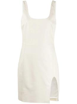 Drome платье мини с U-образным вырезом DPDA554PD400P