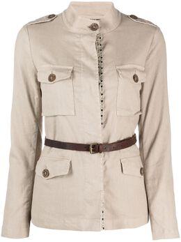 Bazar Deluxe куртка-рубашка с поясом S6672100
