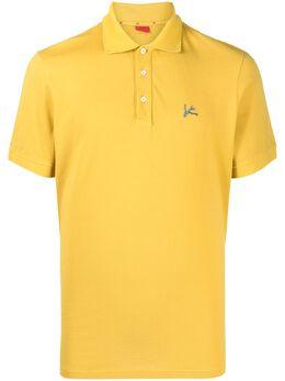 Isaia рубашка поло с вышитым логотипом MC0171JP003